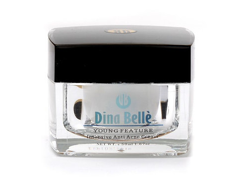 DINA BELLÉ YOUNG FEATURE – ANTI ACNE CREAM