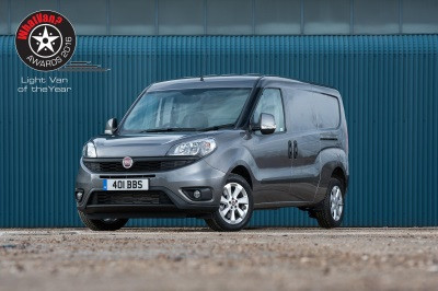 "Noul Fiat Doblo Cargo desemnat ""Light Van of the Year 2016"""