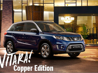 Noul Suzuki Vitara Copper Edition