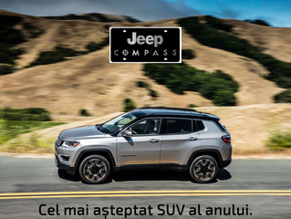 Prețul noului Jeep Compass pleacă de la 23.310 EURO, TVA inclus