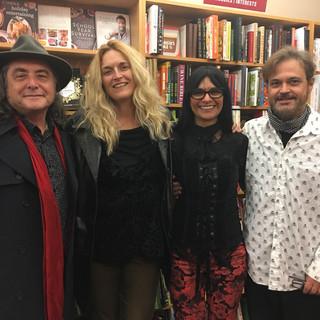 Elbio, Julia, Cecilia and Federico in Chicago