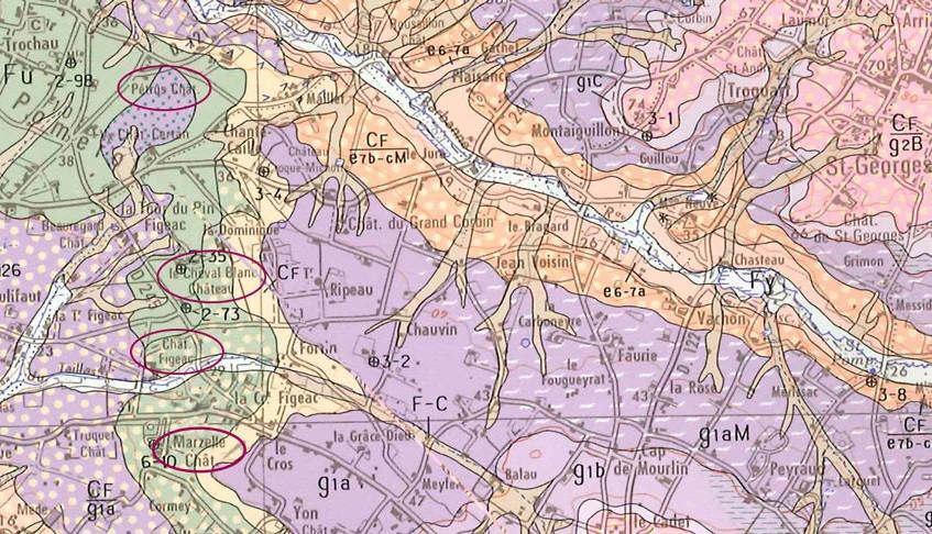 Nord de Saint-Émilion et Pomerol