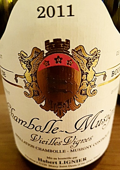 Chambolle Musigny 2011 Vieilles Vignes