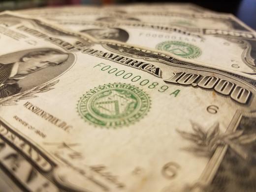 $10000 Bill Value