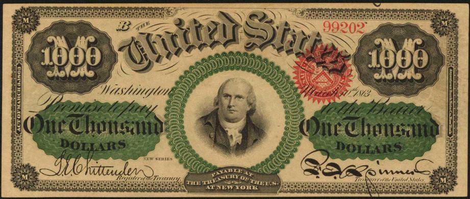 $1000 Bill Value