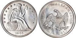 Seated Liberty Dollars