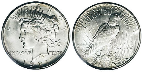 Peace Silver Dollar - Silver Dollar Values