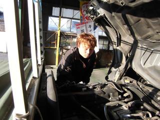 吉村が退職しました 自動車整備士が巣立つこと