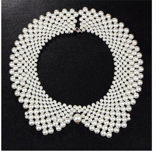 AKA Greek Elegant Pearl Collar