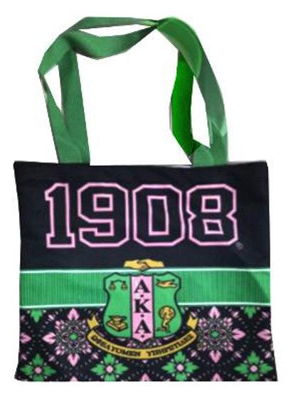 AKA 1908 Black Pink Bag-Tote-