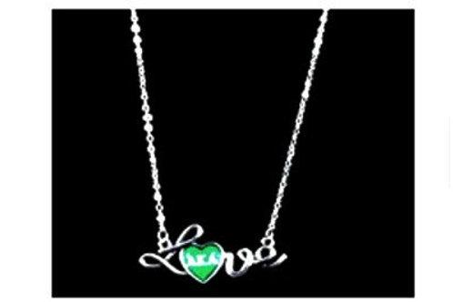 AKA Love Necklace-AKA Greek