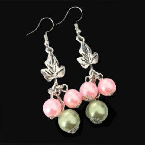AKA Pearls Ivy Drop Earrings^