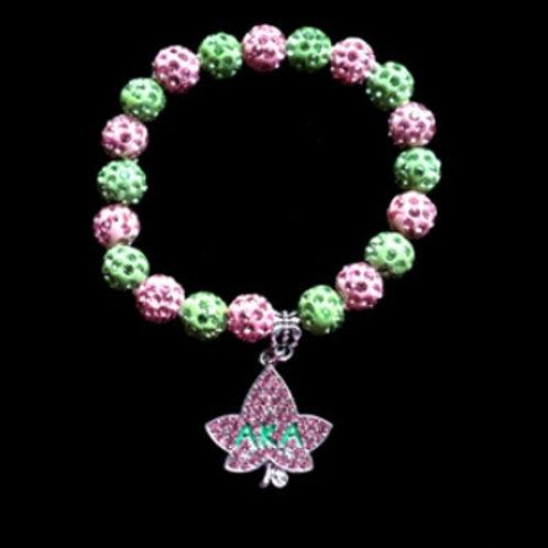 *AKA Ivy Crystals Beads Stretch Bracelet