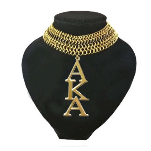 AKA Gold Mesh Chain Necklace