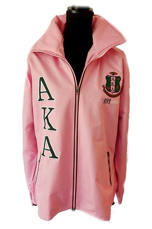 AKA Pink Logo Plus Windbreaker