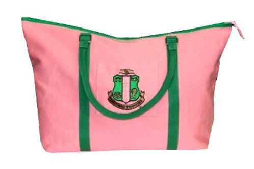 AKA Pink Canvas Tote Bag