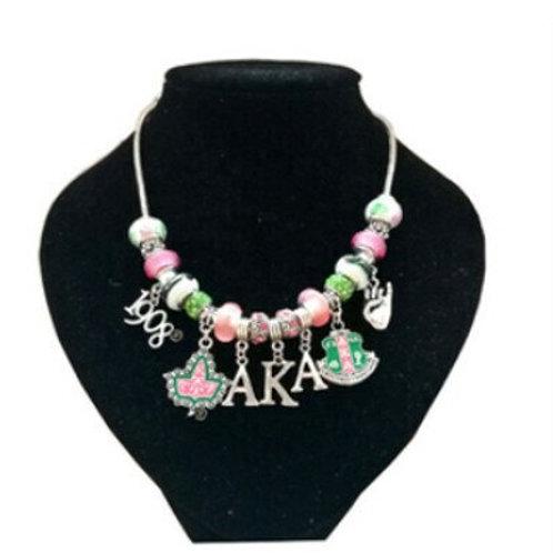 AKA Charms Beads Necklace