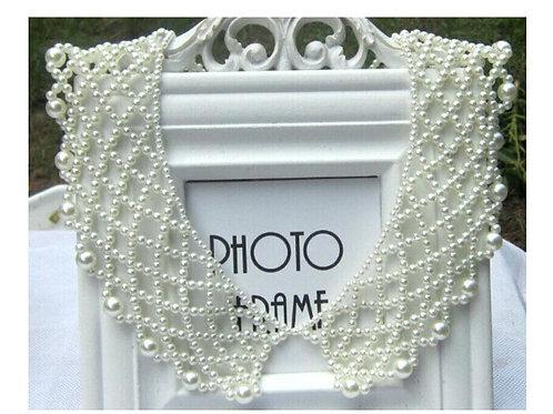 AKA Greek Lattice Pearl Collar