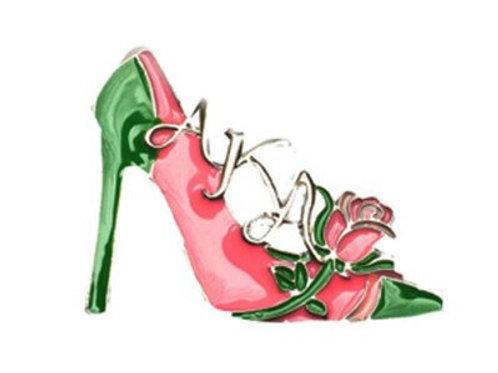 AKA High Heel Shoe Brooch-Pin