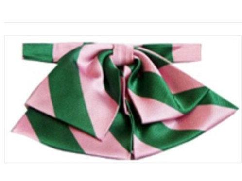 AKA pink and green stripes.