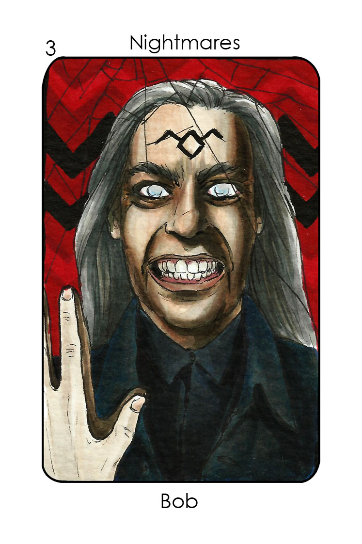 Nightmares-3_Bob (Twin Peaks)_Colour 2