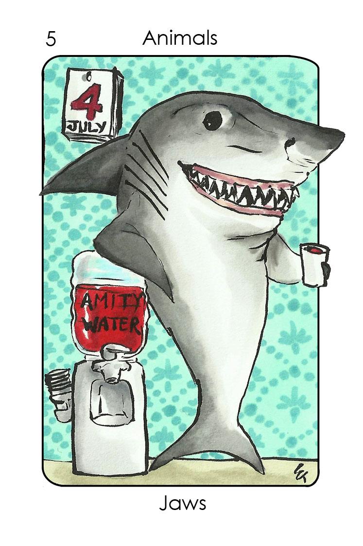 The shark (Jaws)