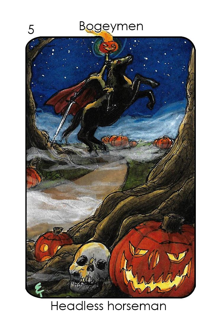 Bogeymen-5_Headless horseman (Sleepy Hollow)_Colour 3