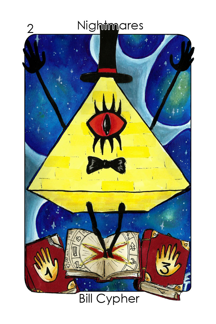 Nightmares-2_Bill Cypher (Gravity Falls)_Colour 1