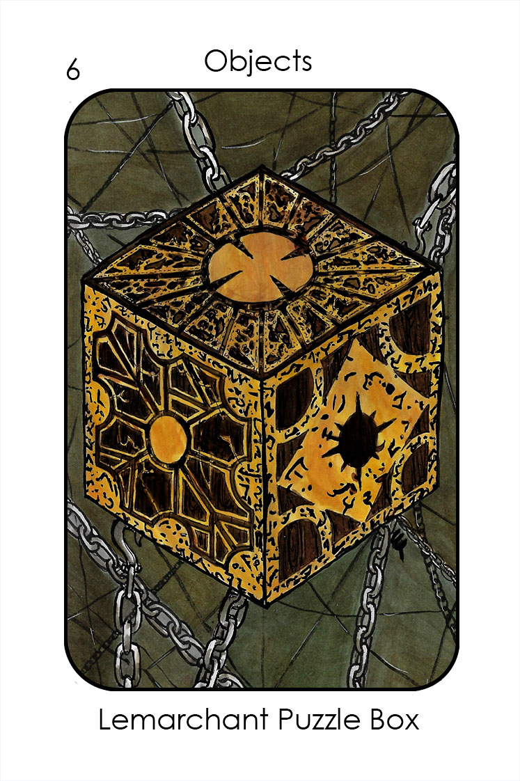 Objects-6b_Puzzle box (Hellraiser)_Colour 3