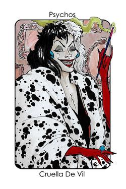 Psychos_Cruela Deville (101 dalmatians)_Colour 3