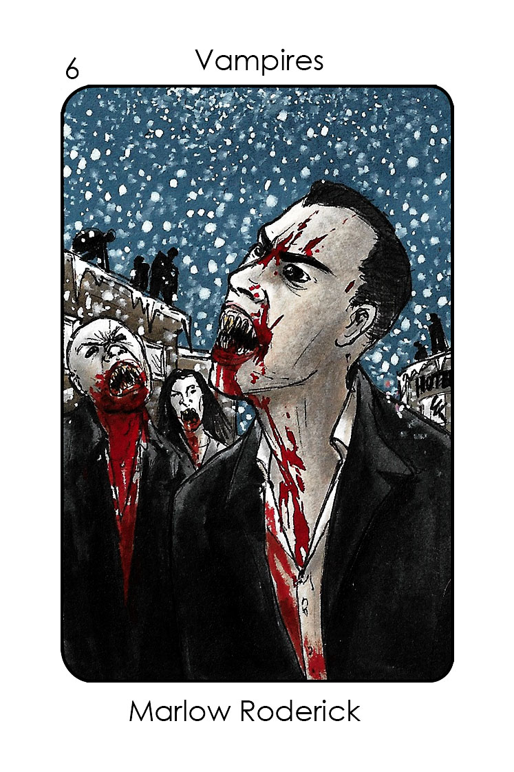 Vampires-6_Marlow Roderick (30 days of night)_Colour 2
