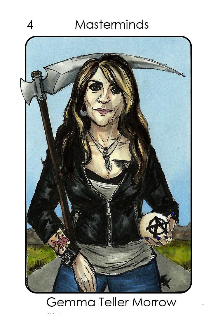 Gemma Teller Morrow (Sons of Anarchy)