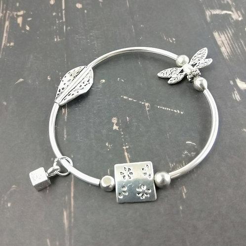 Funky Dragonfly Bracelet