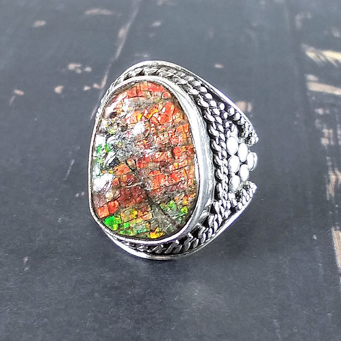 Amelite Sterling Ring
