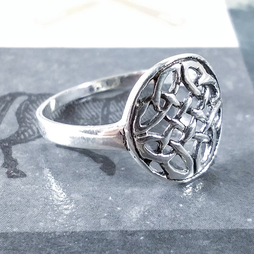 Celtic Knot Sterling Ring