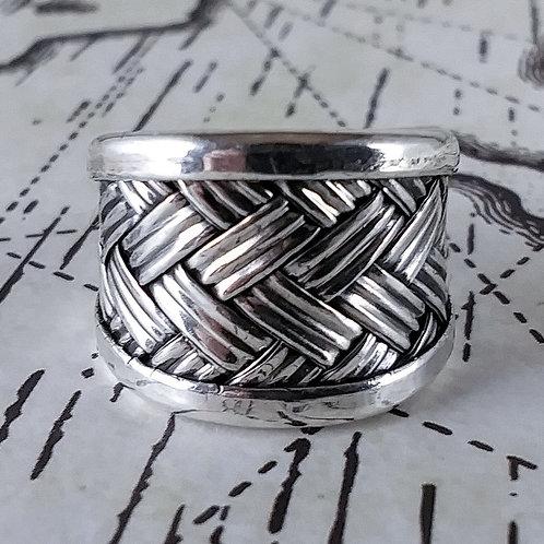 Sterling Weave Ring