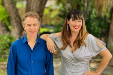 Safia Valines and Tom Casey