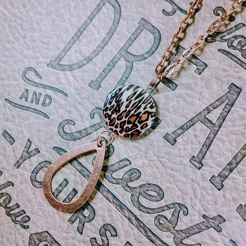 Leppard Copper Necklace
