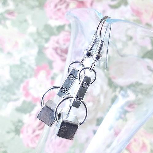 Connector Cube Earrings