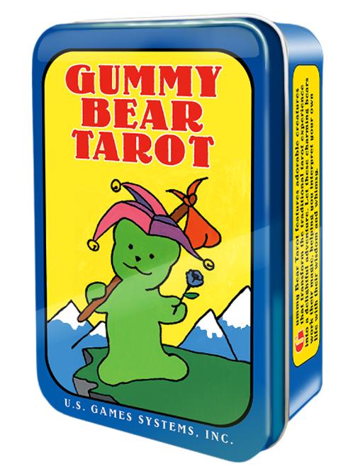 Gummy Bear Tarot in a Tin