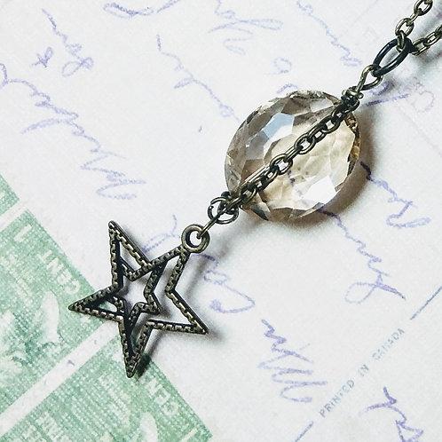Bronze Champagne Star Necklace