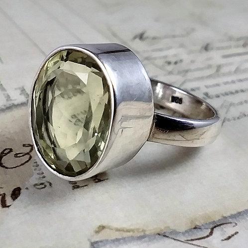 Citrine Sterling Ring