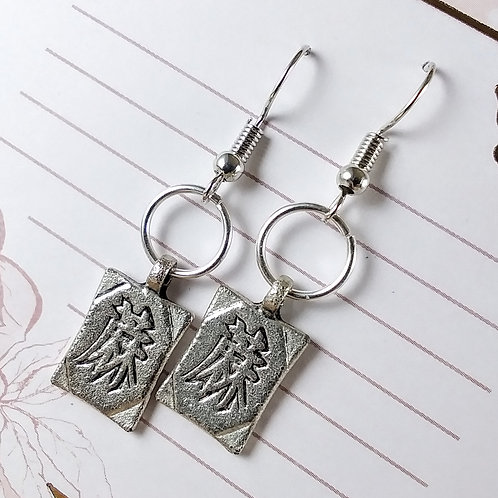 Chinese Symbol Earrings