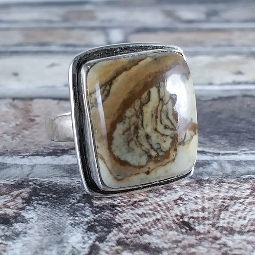 Picture Jasper Sterling Ring