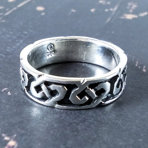 Celtic Sterling Band Ring