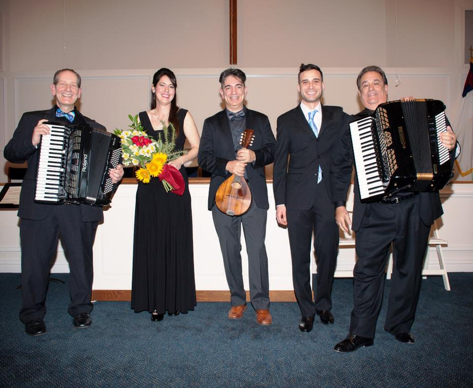 Safia at an Italian concert