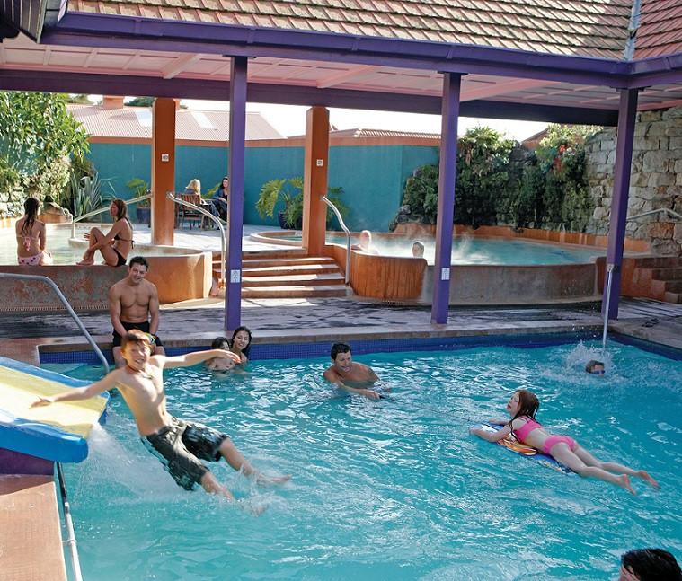 Family Pools Waterslide