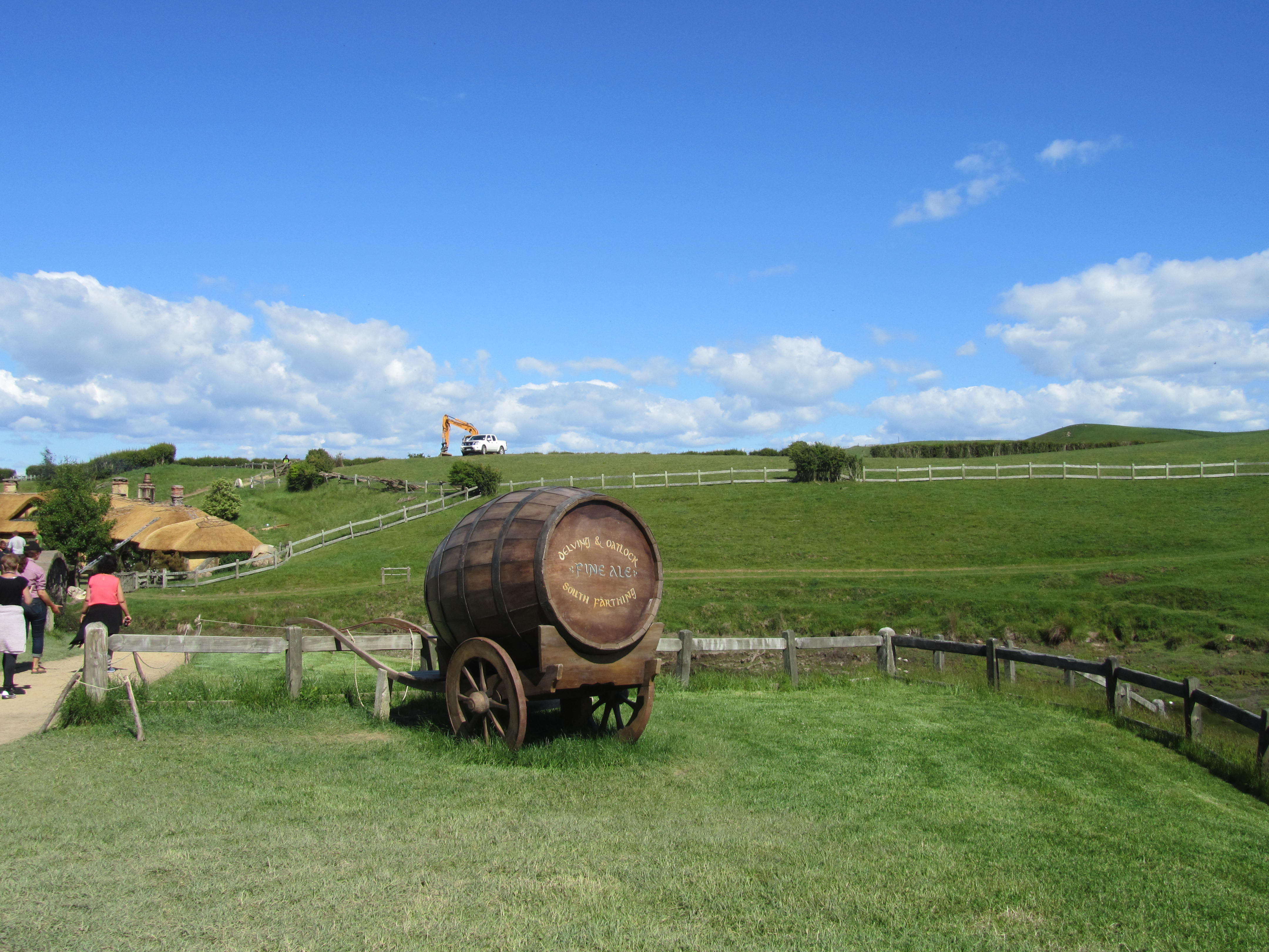 The Shire Barrel Cart