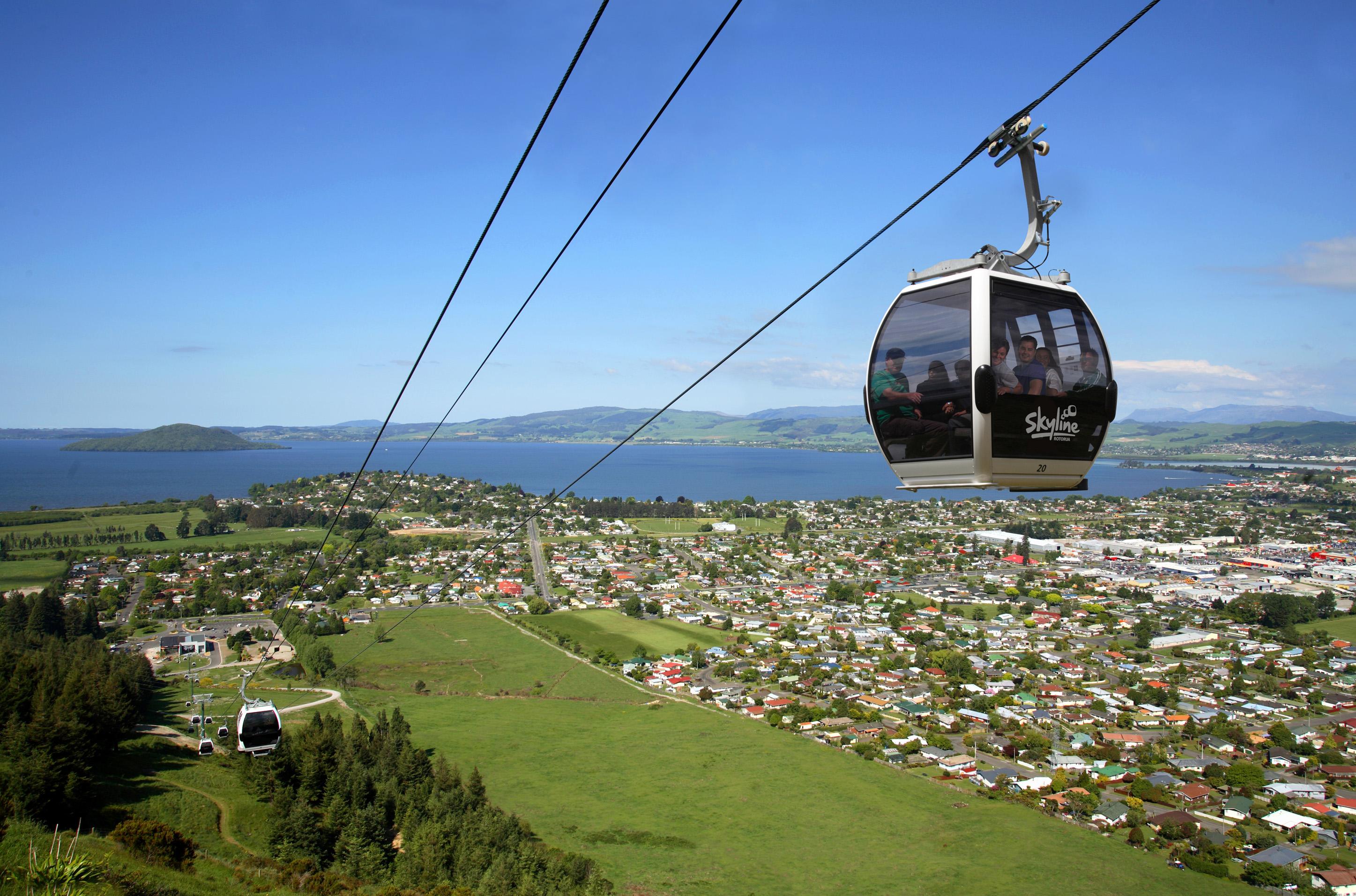 Skyline Rotorua Gondela