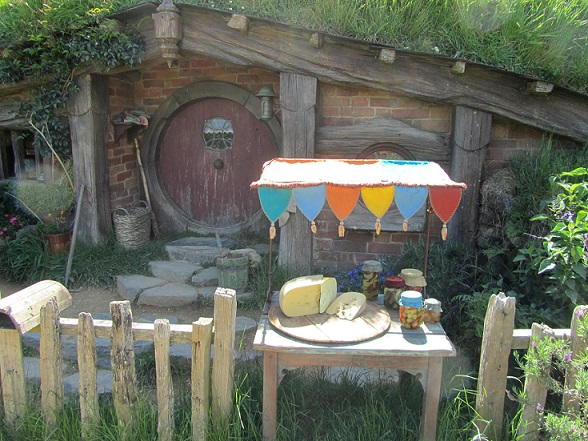 Food Stand at Hobbiton